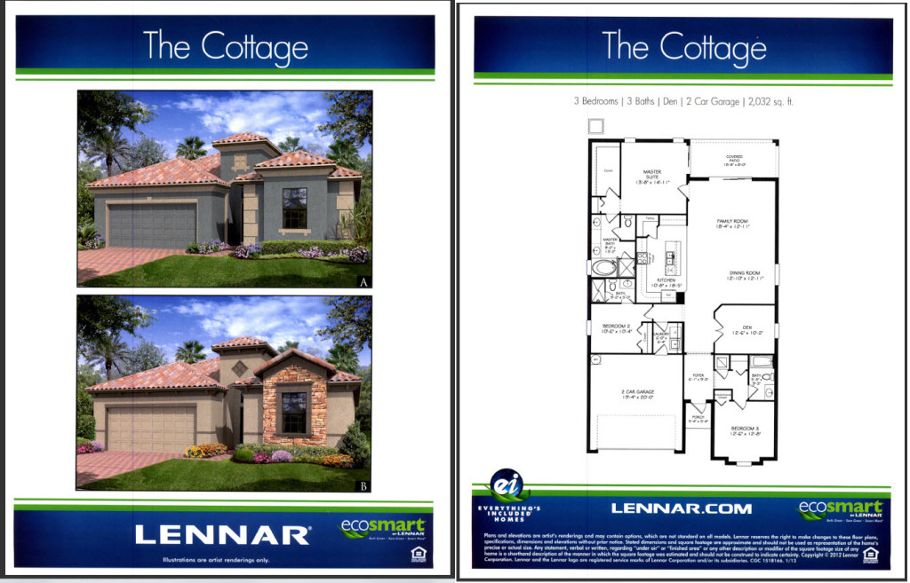 Champions Gate Florida New Lennar Homes For Sale