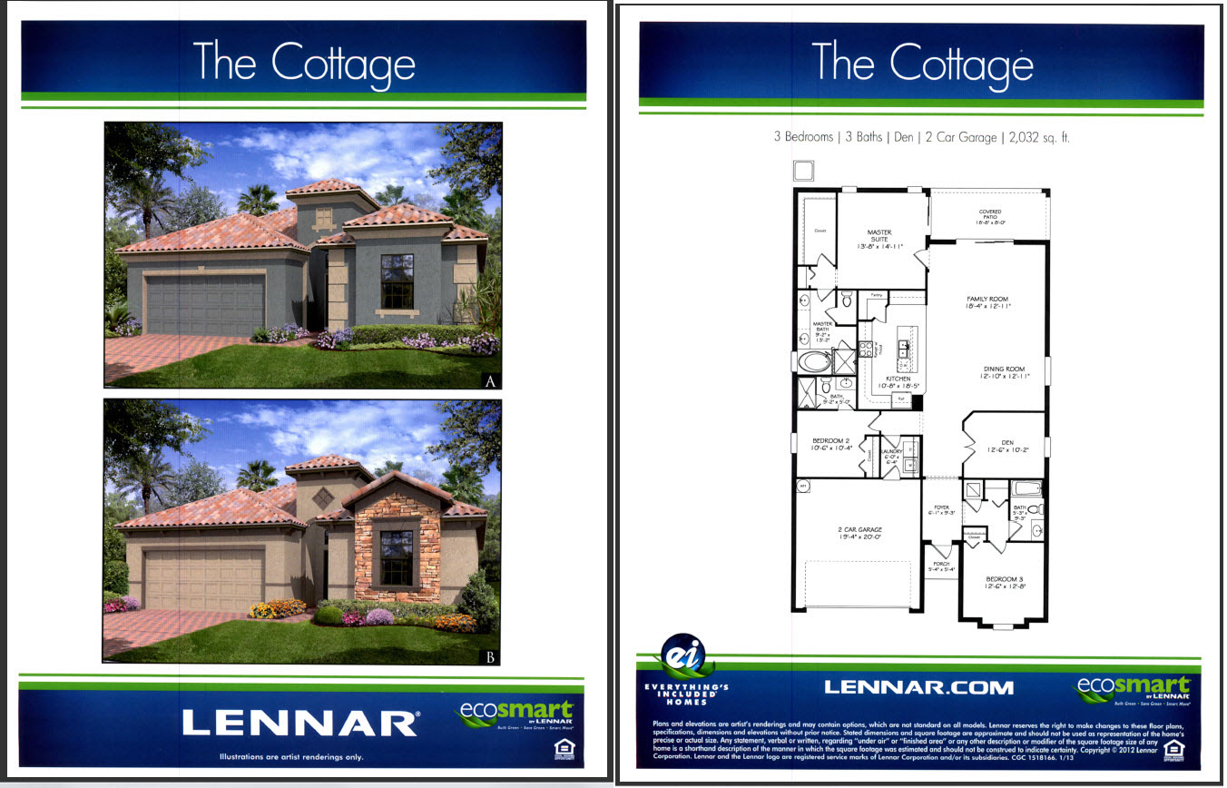 Lennar Homes Orlando Floor Plans